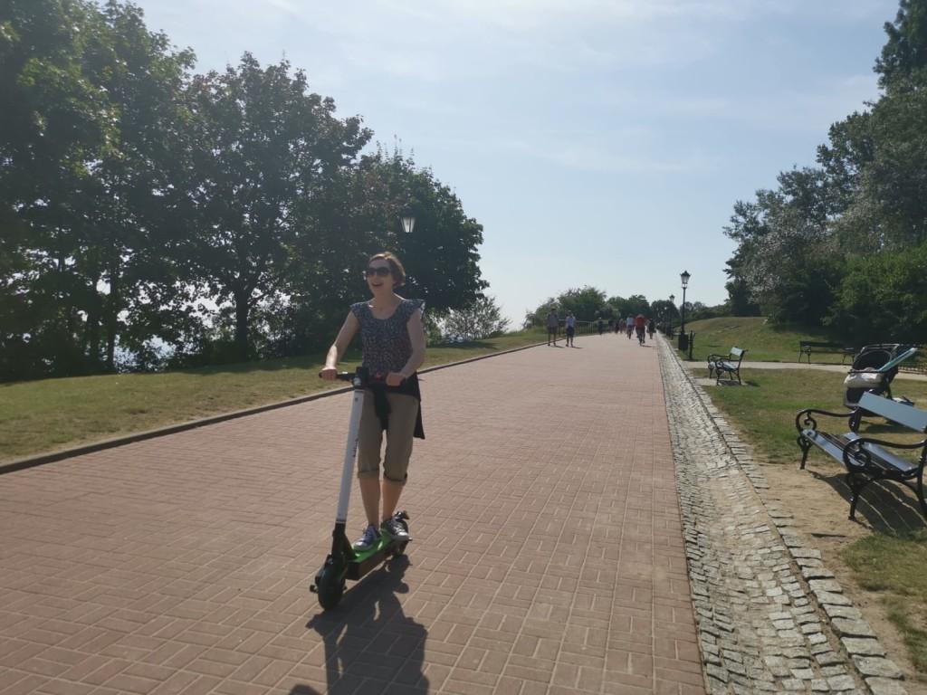 Hulajnoga i ja, Gdynia