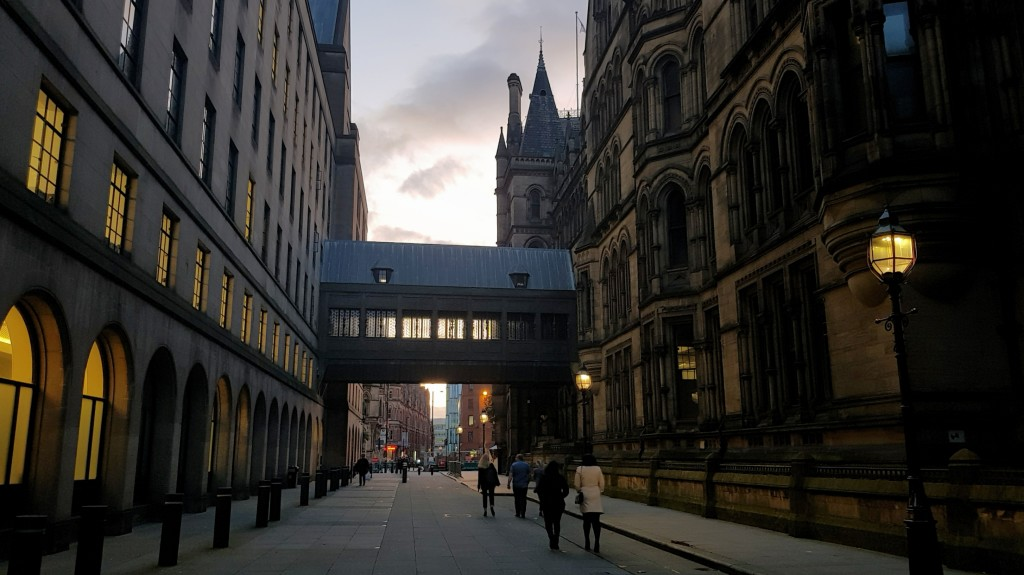 Manchester nocą