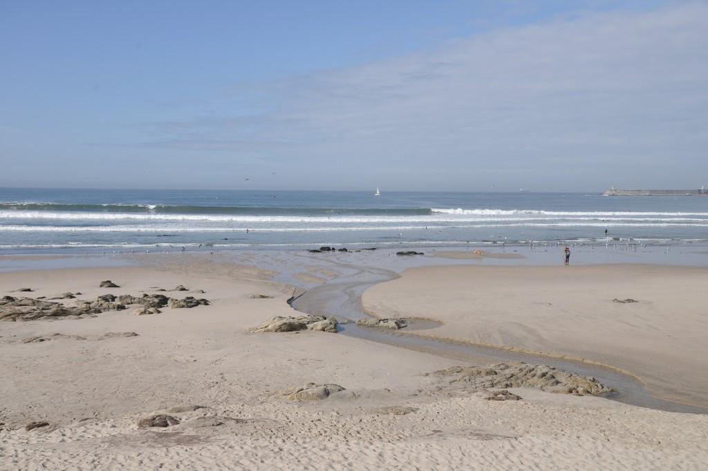 Z wizytą w Portugalii, cz. 2 - Plaża MATOSINHOS