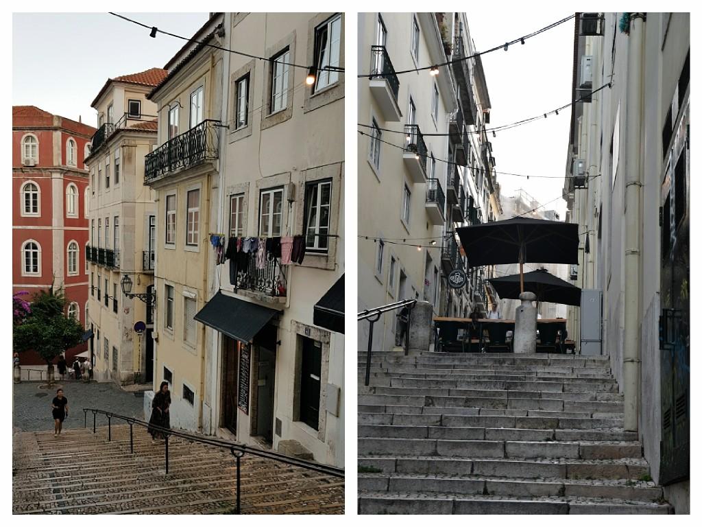 Bairro Alto za dnia, Lizbona