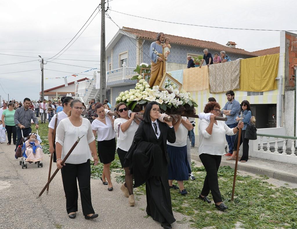 Costa Nova, procesja