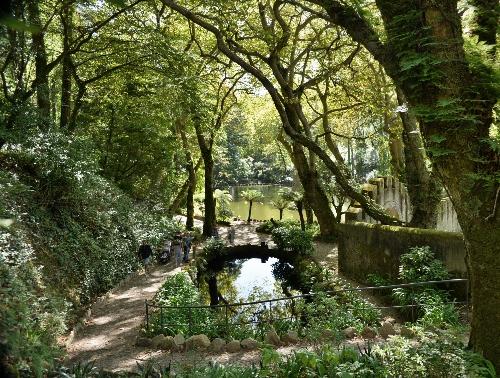 10. Sintra - ogrody pałacowe