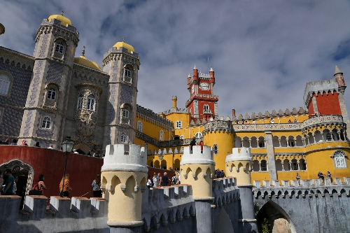 3. Sintra - Pałac Pena