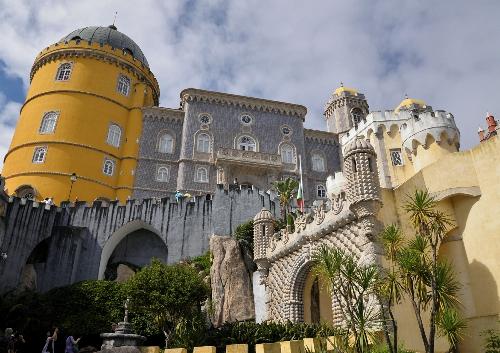 4. Sintra - pałac główne wejście