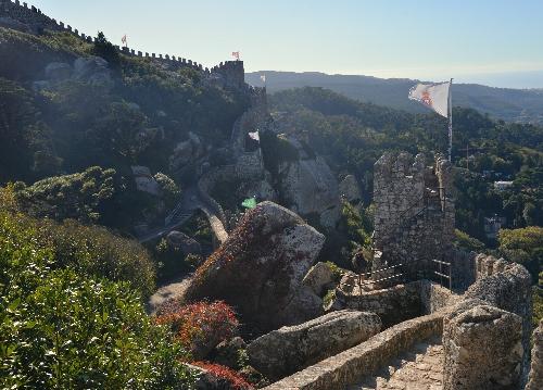 Zamek Maurów - ruiny