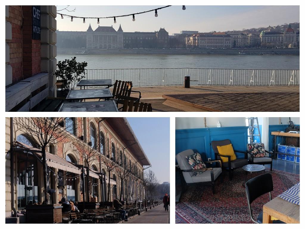 Budapeszt 2, Cafe nad Dunajem