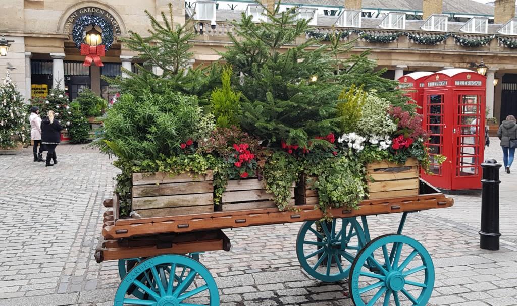 Covent Garden na święta
