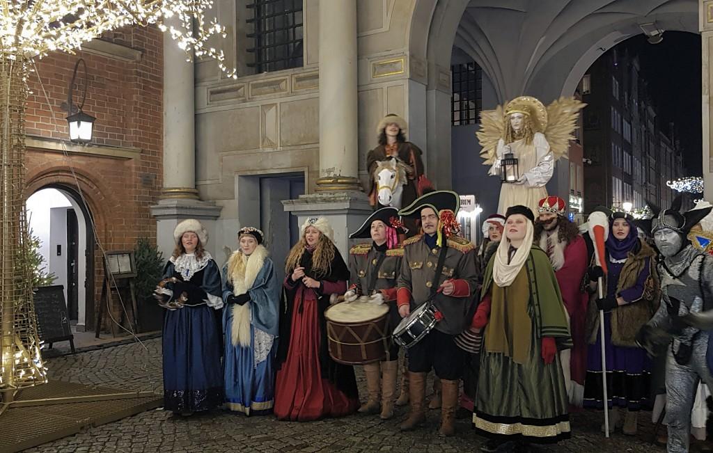 Kolędnicy w Gdańsku