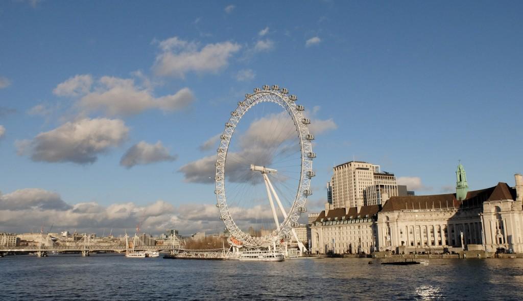 Londyn, London Eye