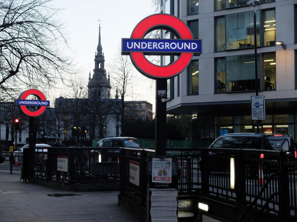 Londyn, St. Paul's St.