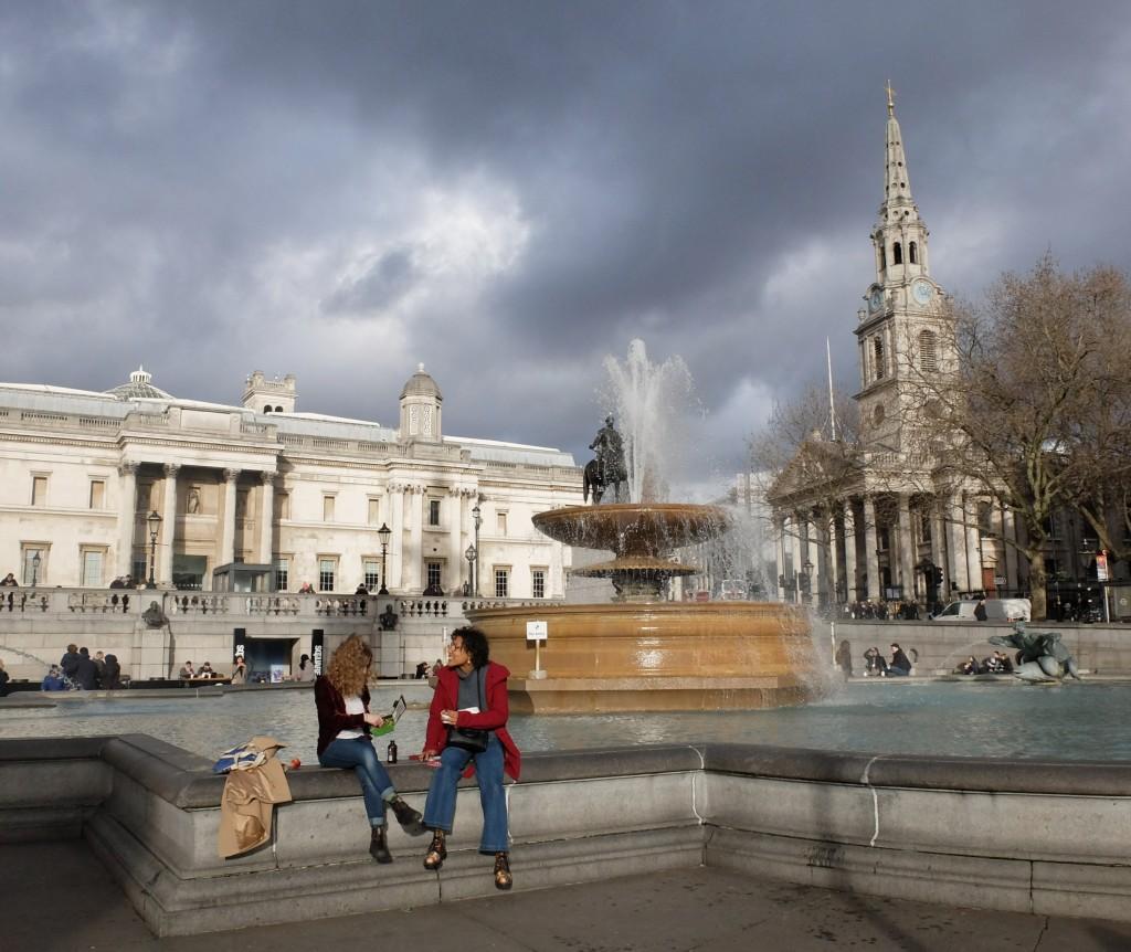 Londyn, Trafalgar Sq.