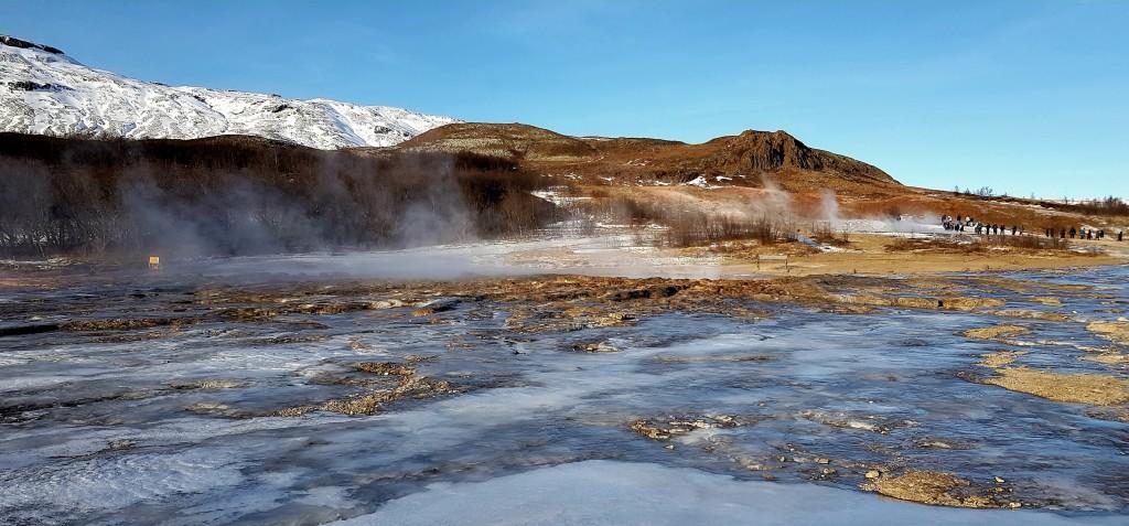 Pola geotermalne, Islandia