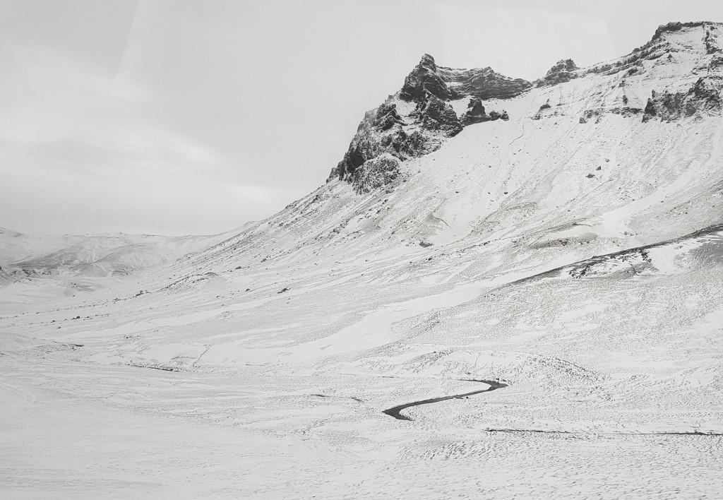 W zimowym klimacie Islandii