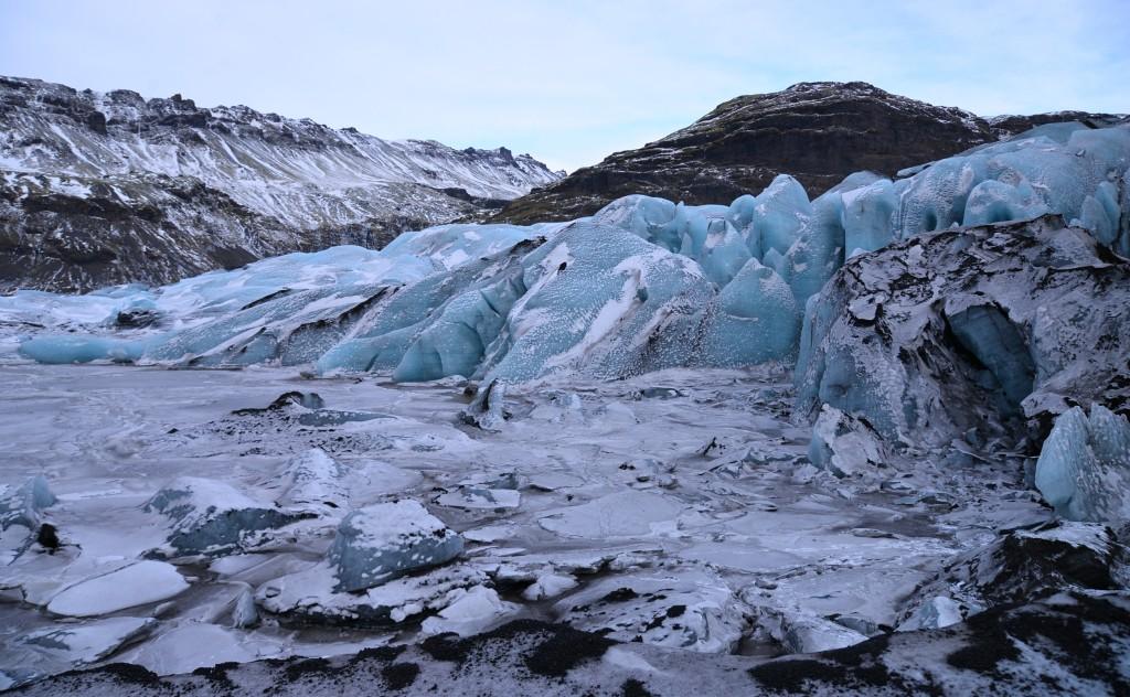 Język lodowca, Islandia
