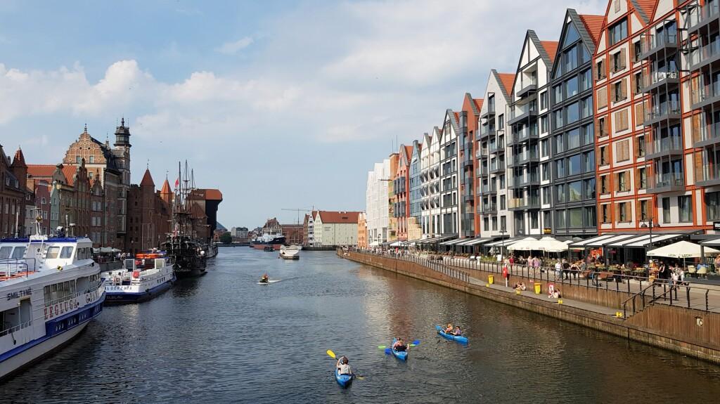 Gdańsk - nad Motlawą