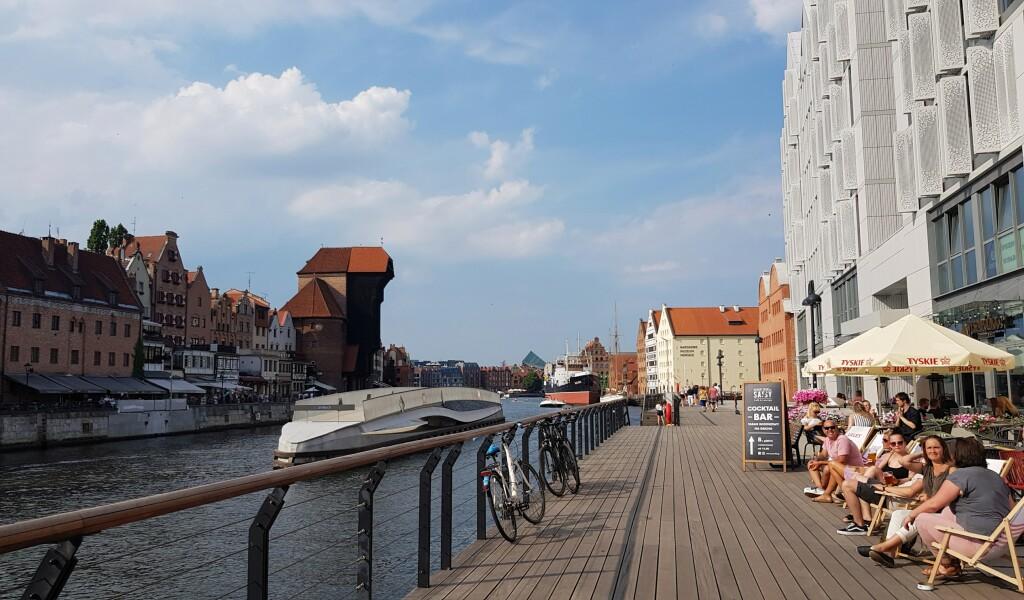 Gdańsk - nowa promenada