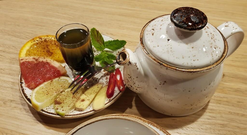 Herbata Zimowa w lipcu
