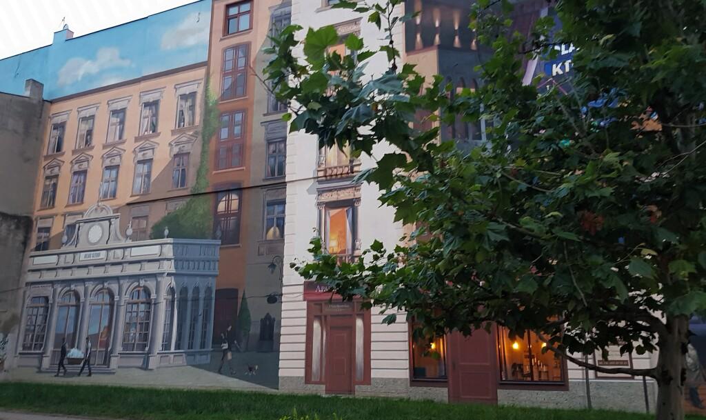 Murale, Łódź
