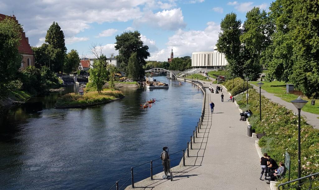 Bydgoszcz - widok na Operę