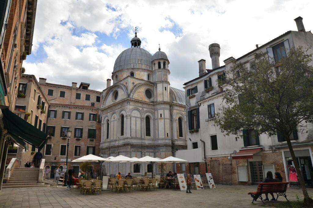 Wenecja - kościół