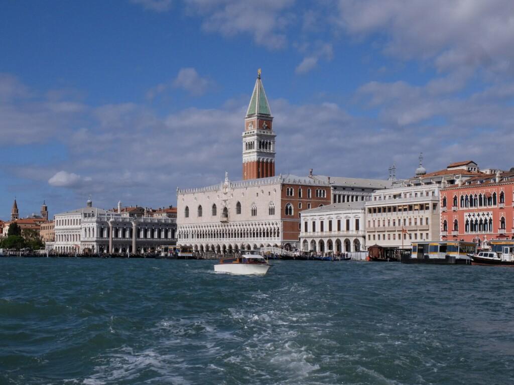 Wenecja - panorama na Pałac Dodżów