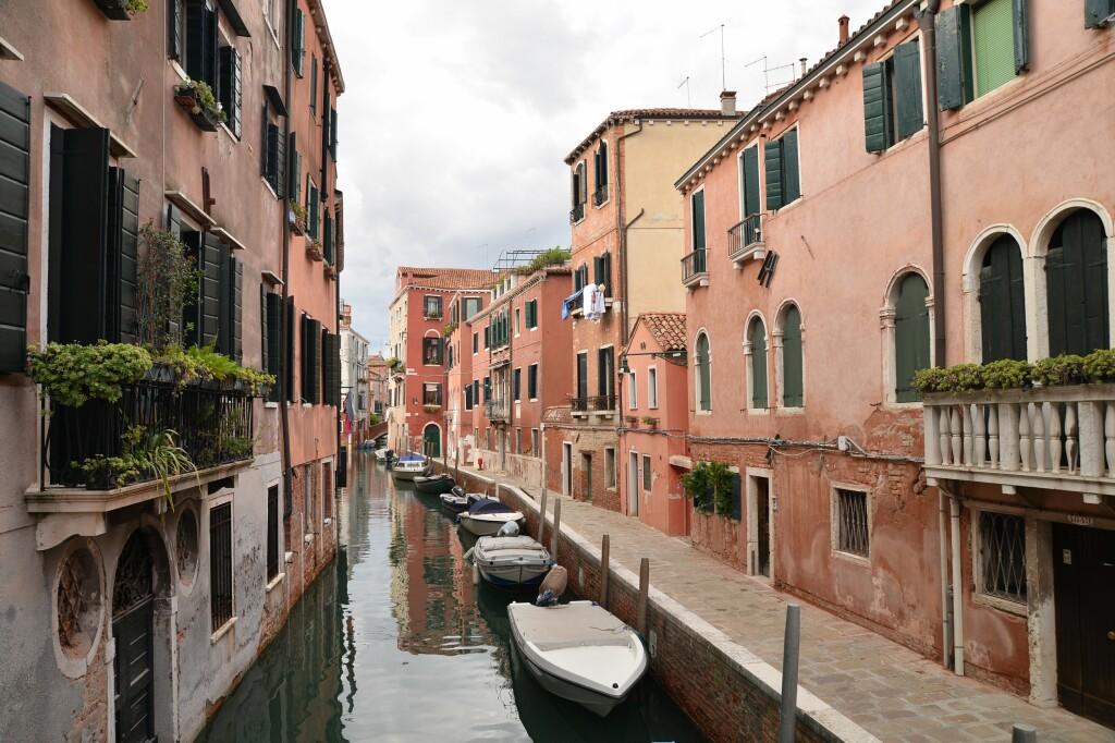 Wenecja - w kanale