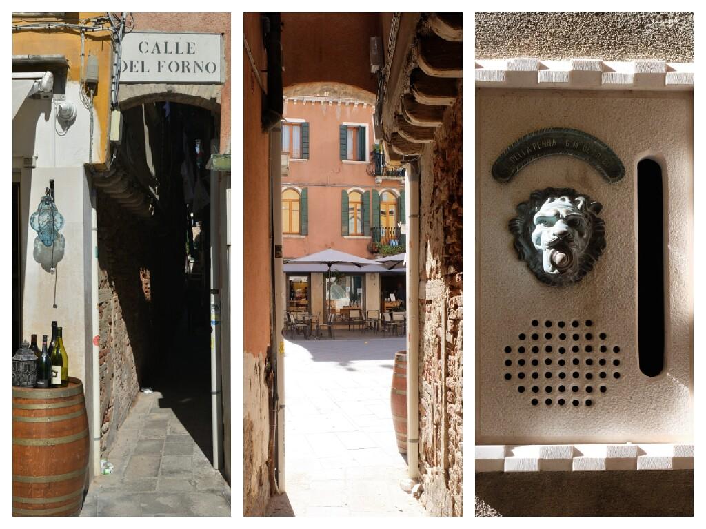 Wenecja - wąskie przejścia