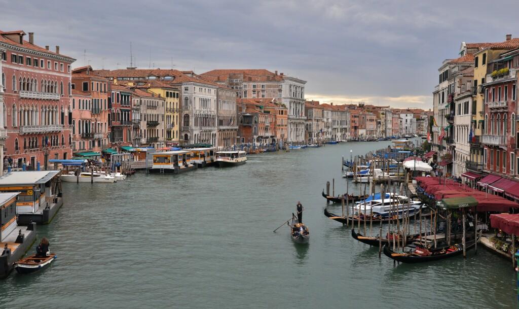 Wenecja - z mostu Rialto