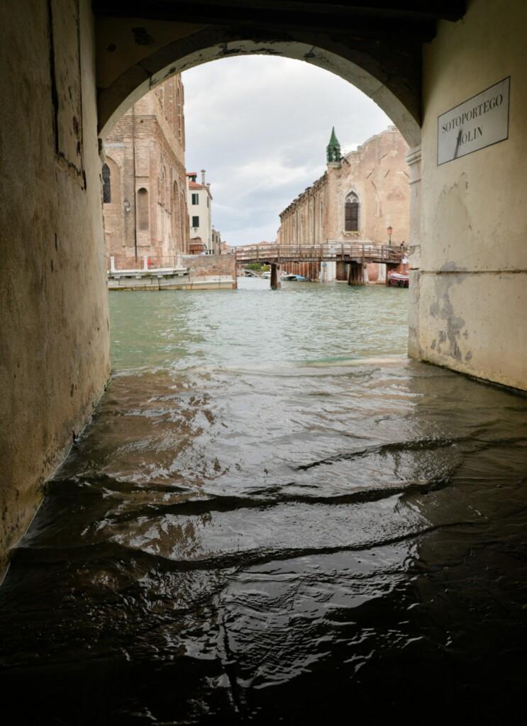 Wenecja - zalanie