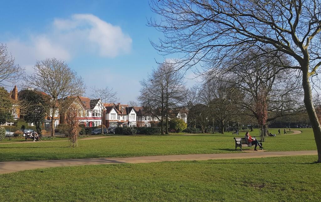 Park w lutym